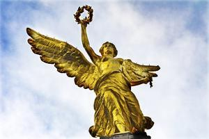 The Angel of Independence, Mexico City, Mexico. Built in 1910. by William Perry