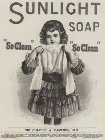 Advertisement, Sunlight Soap
