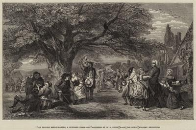 An English Merry-Making, a Hundred Years Ago