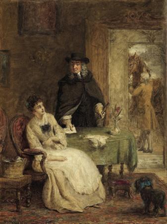 Jonathan Swift and Vanessa, 1881