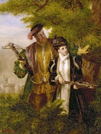 King Henry and Anne Boleyn Deer Shooting in Windsor Forest, 1903