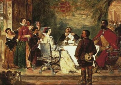 Sancho Panza Entertains Duke and Duchess