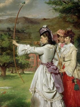 The Fair Toxophilites, 1872 by William Powell Frith