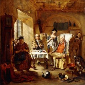 The Family Lawyer, 1857 by William Powell Frith