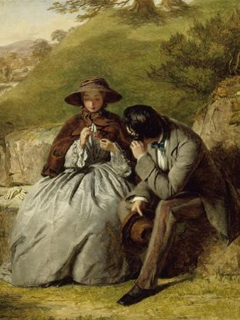 The Lovers, 1855