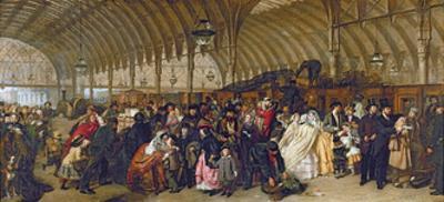 The Railway Station, 1862
