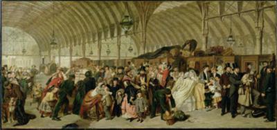 The Railway Station, 1863