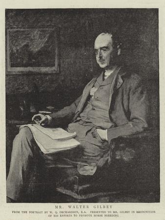 Mr Walter Gilbey
