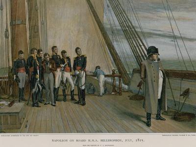 Napoleon on Board HMS Bellerophon