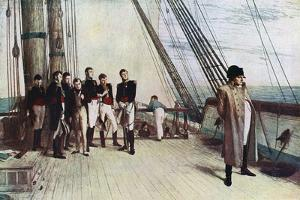 Napoleon on Board the Bellerophon, 1815 by William Quiller Orchardson