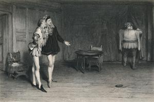 'Prince Henry, Poins, and Falstaff. (King Henry IV - First Part)', c1870 by William Quiller Orchardson