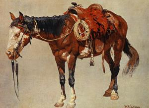 Navajo Pony by William R. Leigh