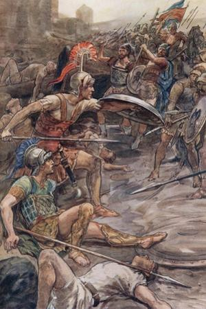 Epaminondas Defending Pelopidas