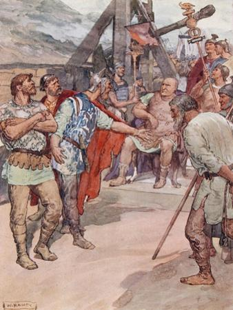 Marius and the Ambassadors of the Cimbri