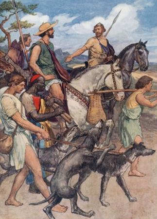 Pelopidas Setting Out for Thebes