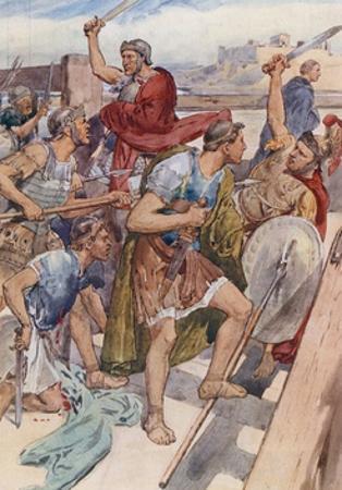 The Pursuit of Caius Gracchus