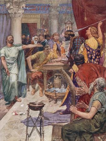 The Quarrel Between Alexander and Clitus