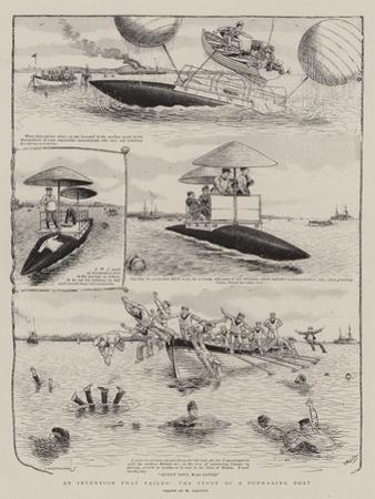 An Invention That Failed, the Story of a Submarine Boat