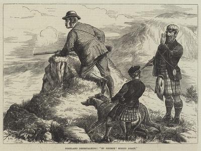 Highland Deerstalking, By George! Missed Again