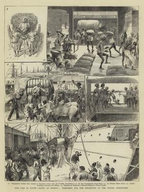The War in Egypt, Notes at Bombay, Preparing for the Departure of the Indian Contingent by William Ralston