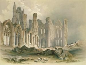 Whitby Abbey from the North-East by William Richardson