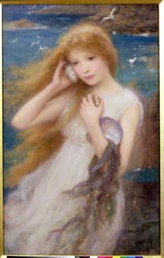 Sea Nymph, 1893 by William Robert Symonds