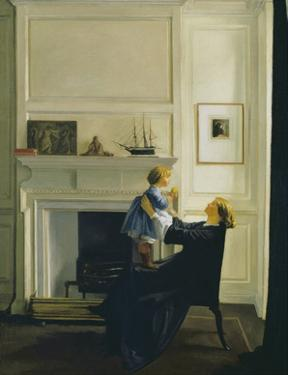 Mother and Child, 1903 by William Rothenstein