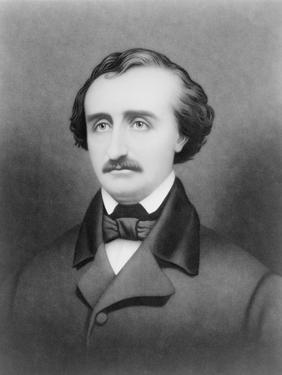 Edgar Allan Poe, 1896 by William Sartain