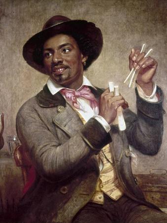 The Bone Player, 1856