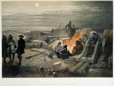 A Quiet Night in the Batteries, 1855