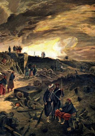 After the Taking of Malakoff on 8th September 1855, C1855