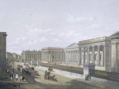 British Museum, Holborn, London, 1852