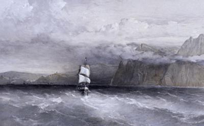 Cape Aiya, Looking North Towards Balaklava, Crimea, Ukraine, 1855