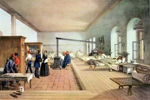 Florence Nightingale (1820-191), English Nursing Pioneer and Hospital Reformer by William Simpson