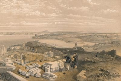 Sebastopol from Old Chersonese and Ancient Church of St Vladimir, 1856