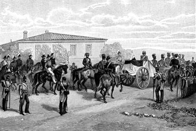 The Burial of Lord Raglan Near Sevasopol, 1855