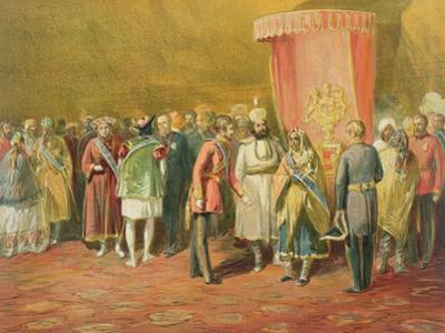 The First Investiture of the Star of India, 1863