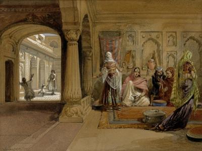 The Mahomedam Hareem, Delhi, 1864
