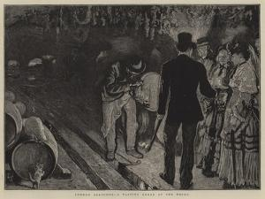 London Sketches, a Tasting Order at the Docks by William Small