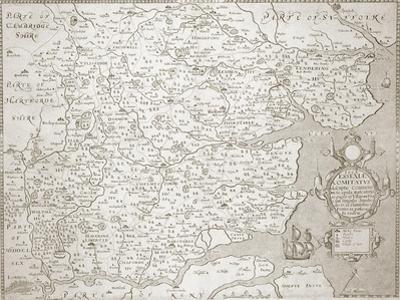 Map of Essex, 1602/03