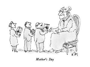 Mother's Day - New Yorker Cartoon by William Steig