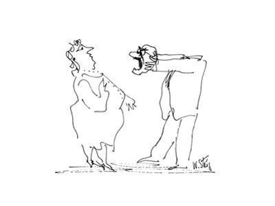 New Yorker Cartoon by William Steig