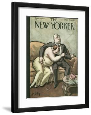 The New Yorker Cover - April 15, 1933 by William Steig
