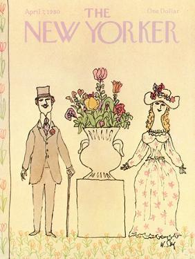 The New Yorker Cover - April 7, 1980 by William Steig