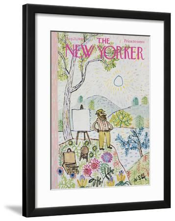 The New Yorker Cover - August 23, 1969 by William Steig