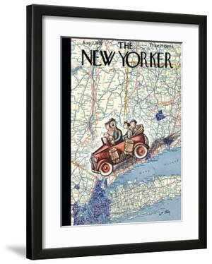 The New Yorker Cover - August 7, 1937 by William Steig