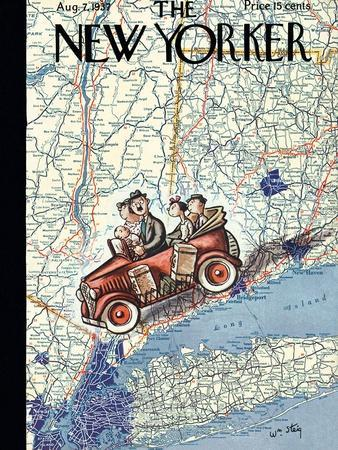 The New Yorker Cover - August 7, 1937