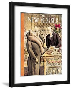 The New Yorker Cover - December 10, 1932 by William Steig