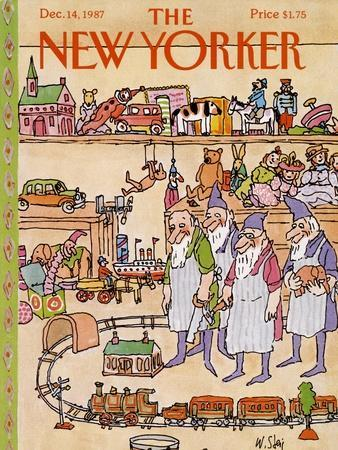 The New Yorker Cover - December 14, 1987