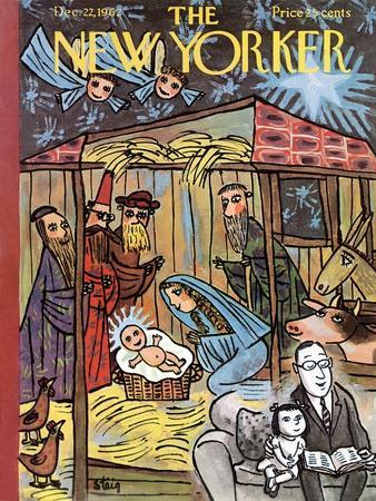 The New Yorker Cover - December 22, 1962
